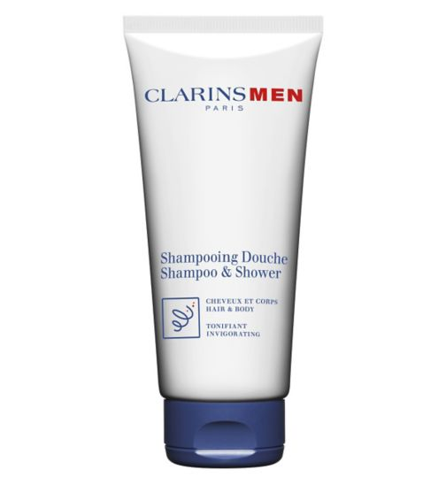 ClarinsMen Total Shampoo Hair and Body 200ml
