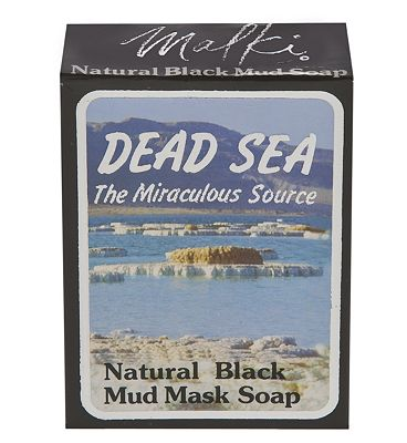 Dead Sea Natural Black Mud Mask Soap 90g