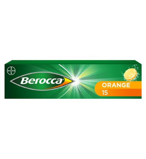 Berocca Orange  - 15 effervescent tablets