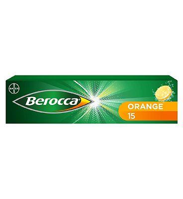 Berocca Orange - 15 effervescent tablets