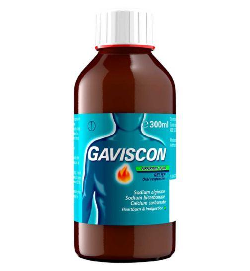 Gaviscon Peppermint Liquid Relief - 300ml