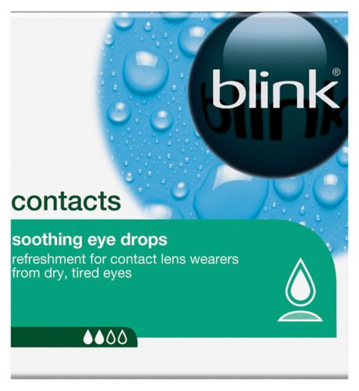 Blink Contacts Soothing Eye Drops 20 x 0.35ml