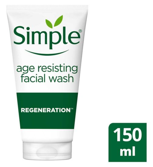 Simple Regeneration Age Resisting Facial Wash 150ml