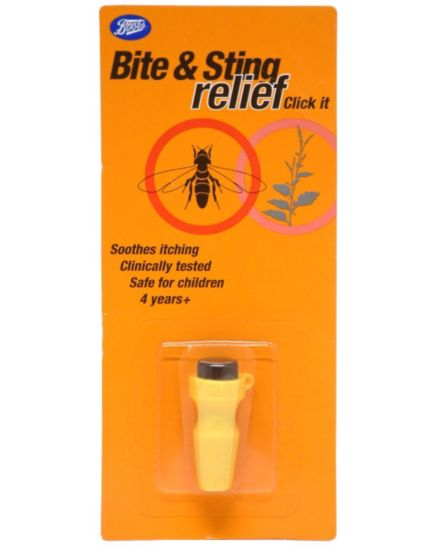 <p>Boots  Bite &amp; Sting relief Click it</p>