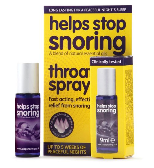 Help Stop Snoring Spray - 9ml