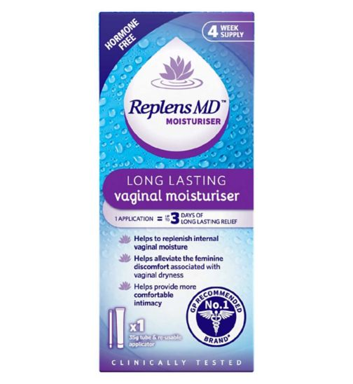 Replens MD Vaginal Moisturiser - 35g