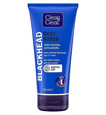 Clean Clear Blackhead Clearing Oil-Free Daily Scrub 150ml