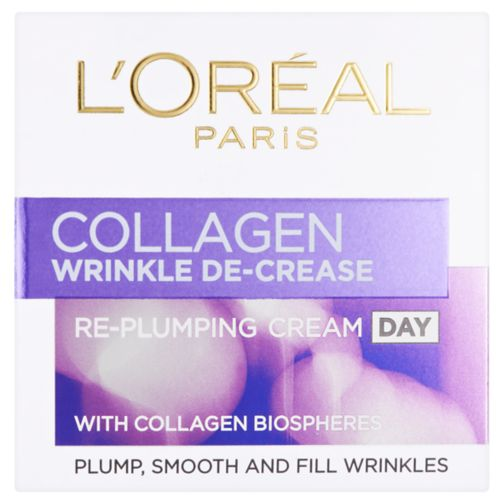 L'Oréal Paris Wrinkle Decrease Collagen Replumper Day Cream 50ml