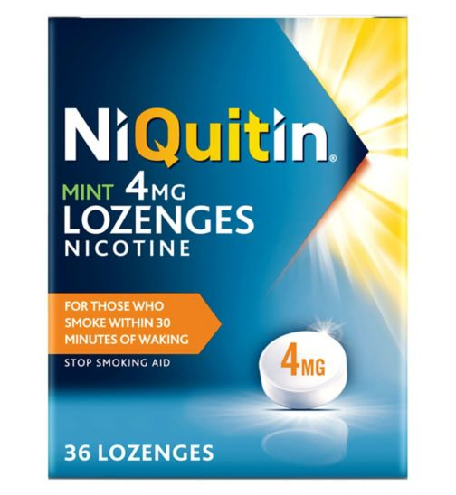 NiQuitin Mint Lozenges 4mg - 36 Lozenges