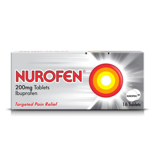 Nurofen 200mg Tablets - 16 Tablets