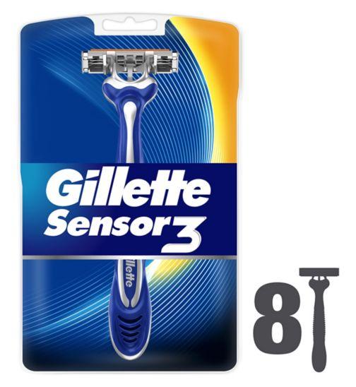 Gillette Sensor3 Disposable Razors 8pk