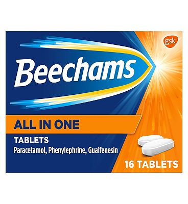 Beechams All-In-One Tablets - 16s