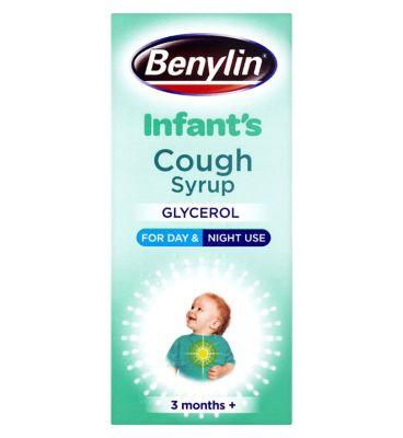 Benylin Children's Apple Flavour Cough Syrup 3+ Months (125ml)