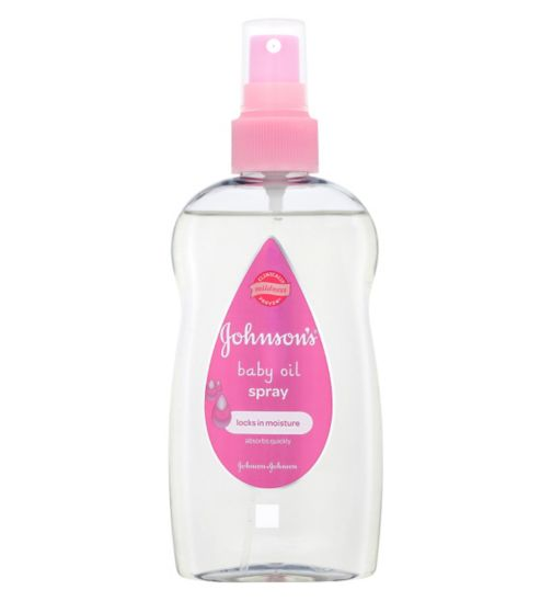Johnson's Baby Oil Spray - 200ml