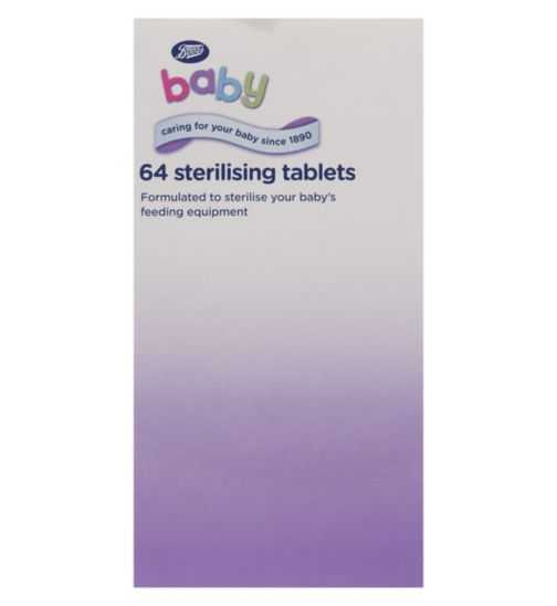 Boots Sterilising Tablets - 64 Pack