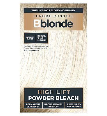 Jerome Russell B Blonde Powder Bleach for Light to Dark Brown Hair