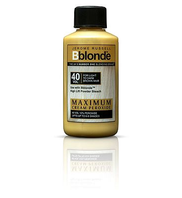 Jerome Russell B Blonde Cream Peroxide for Medium to Dark Brown Hair 75ml