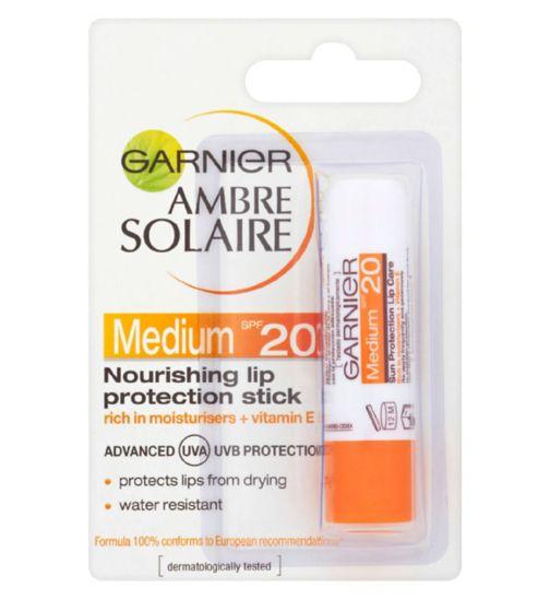 Ambre Solaire Lip Balm Sun Protection Stick SPF20 4.7ml