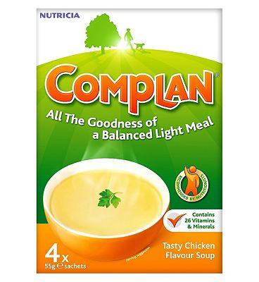 Complan, Nutritional Drink Powder Chicken - 4 x 55 g