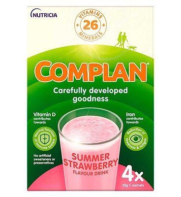Complan - Strawberry 4 x 55g