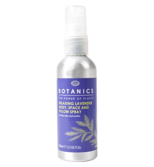 Botanics Relaxing Lavender Body, Space and Pillow Spray - 100ml