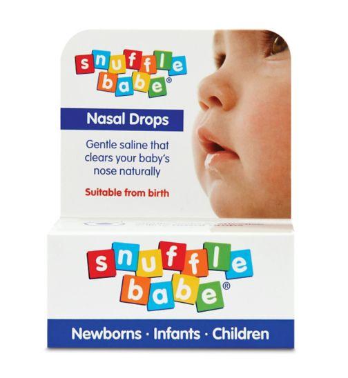 Snufflebabe Nasal Drops - 10ml