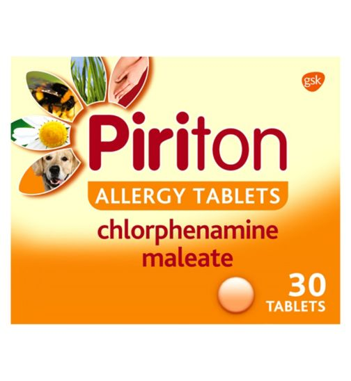 Piriton Allergy Tablets - 30 Tablets