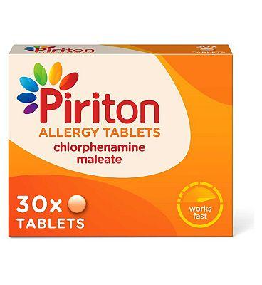 Piriton Allergy Tablets - 30 Tablets
