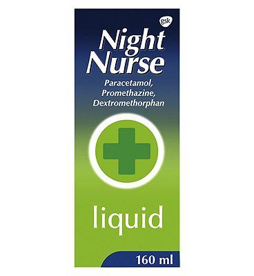 Night Nurse Liquid 160 ml