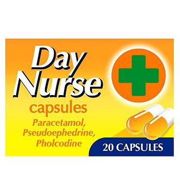 Day Nurse Capsules - 20 Pack