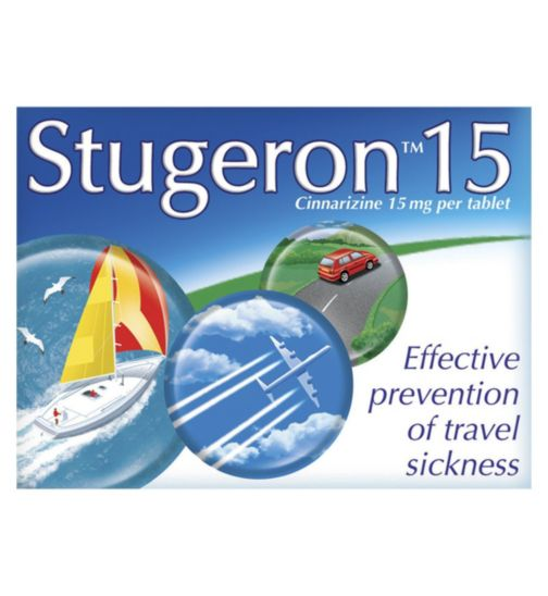 Stugeron - 15 Tablets