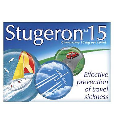 Stugeron - 15 Tablets