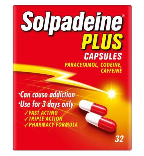 Solpadeine Plus Capsules - 32 Capsules