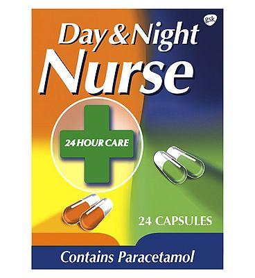 Day Night Nurse Capsules - 24 Pack