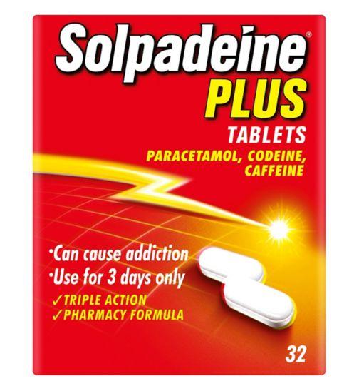 Solpadeine Plus Tablets (32)