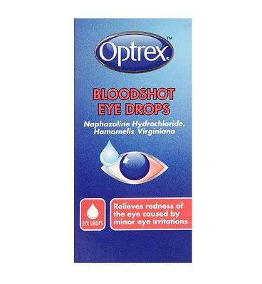 Optrex Bloodshot Eye Drops - 10 ml