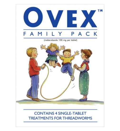 Ovex Family Pack - 4 Tablets