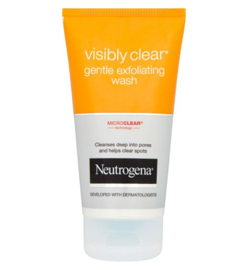 Neutrogena Visibly Clear Gentle Exfoliating Wash 150ml