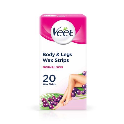 Veet EasyGrip Ready to Use Wax Strips 20 Wax Strips