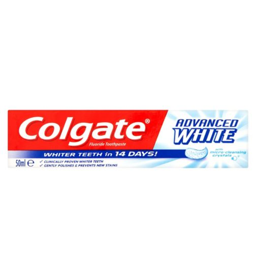 Colgate® Advanced White Toothpaste 50ml