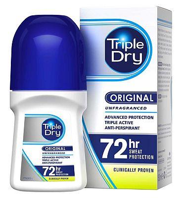 Triple Dry Anti-Perspirant Roll-On 50ml