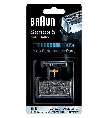 Braun 8000 Series Activator Foil Cutter Pack