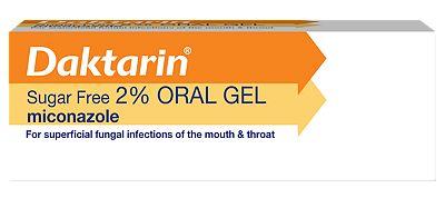 Daktarin Sugar Free 2% Oral Gel 15g