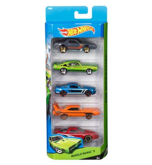 Hot Wheels 5 Car Pack Assortment