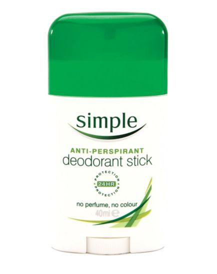 Simple Anti-Perspirant Deodorant Stick