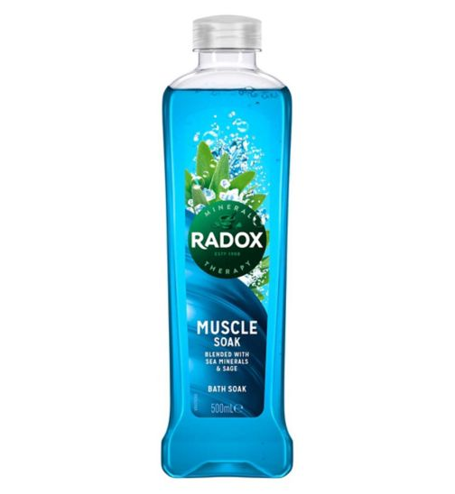 <p>Radox Feel Good Fragrance Muscle Soak Bath Soak 500ml</p>
