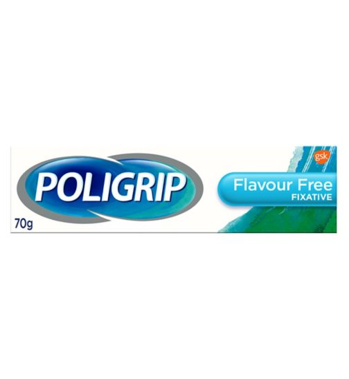 Poligrip Flavour Free Totalcare Dental Fixative Cream 40g