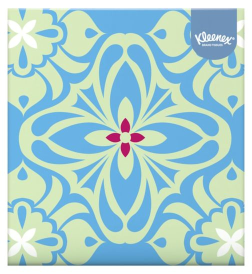 Kleenex Collection Cube Tissues - Single Box