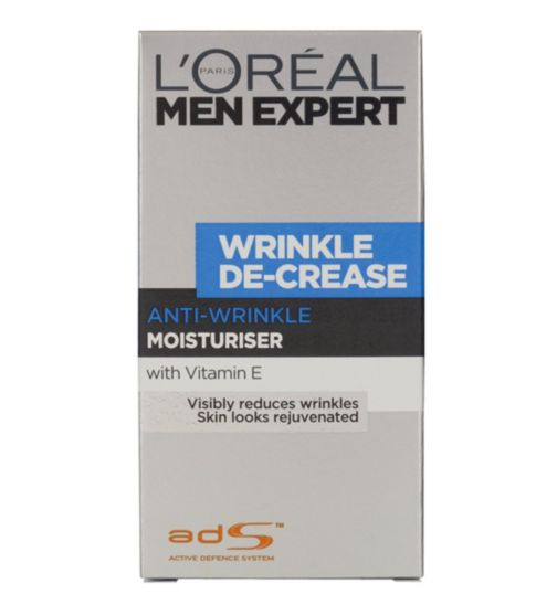 L'Oreal Men Expert Wrinkle De-Crease Moisturiser 50ml