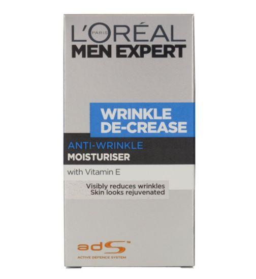 L'Oreal Men Expert Wrinkle De-Crease Moisturiser 50ml